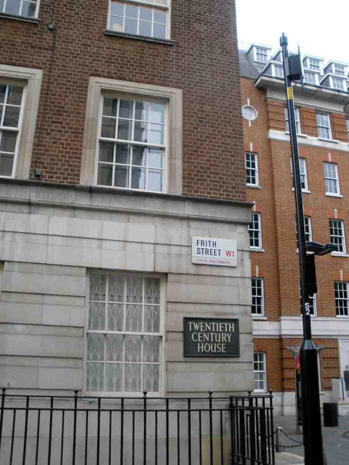 20th Century Fox London